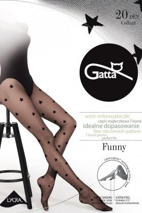 Колготки со звездами GATTA FUNNY 06