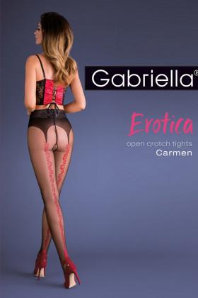 Колготки с вырезом Gabriella Carmen 20 den