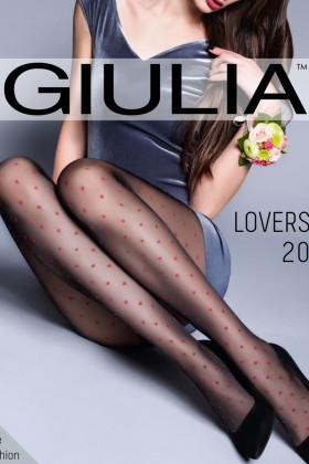 """Фото Колготки с узором \\""""сердечки\\"""" GIULIA Lovers 20 model 4"""