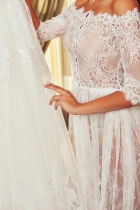 Фото Кружевное будуарное платье Pollardi F-100