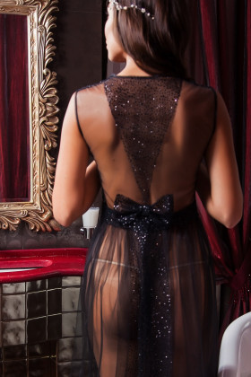 Фото Прозрачное будуарное платье Pollardi F-210