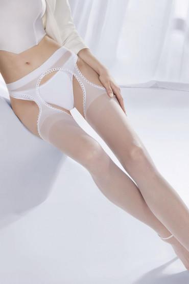 Фото Чулки с поясом Gabriella Strip Panty 20 den