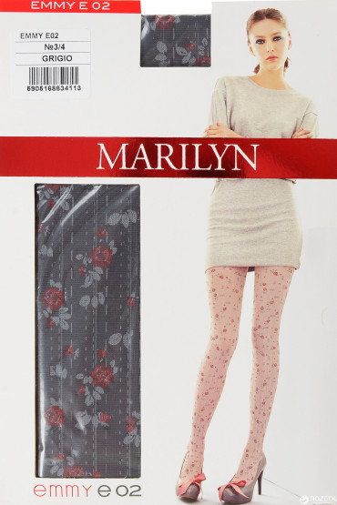 Колготки фантазийные Marilyn EMMY E02
