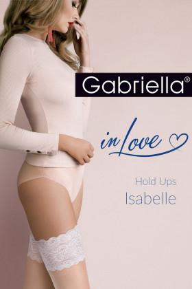 Чулки с голубым кружевом Gabriella Isabelle 20 den