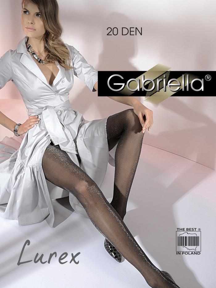 Колготки с люрексом Gabriella Lurex 20 den