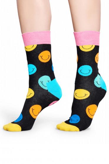 Фото Носки хлопковые с принтом Happy Socks SMILE SOCK