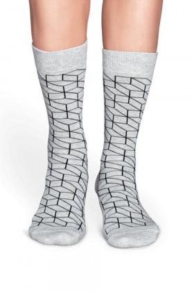 Носки хлопковые с принтом Happy Socks OPTIC G