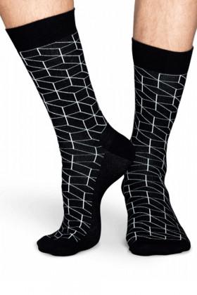 Носки хлопковые с принтом Happy Socks OPTIC