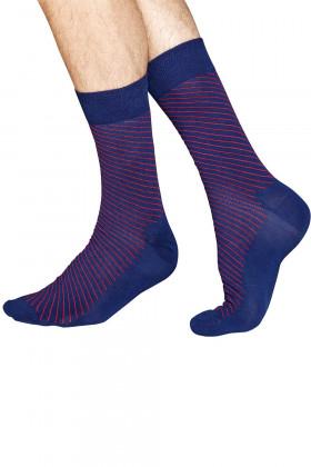Носки хлопковые с принтом Happy Socks Diagonal Thin