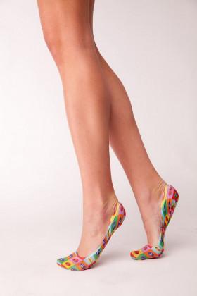 Фото Следы с принтом Legs 702 PRINT LIPS