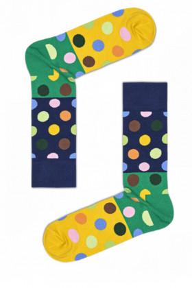 Носки хлопковые с принтом Happy Socks BIG DOT BLOCK