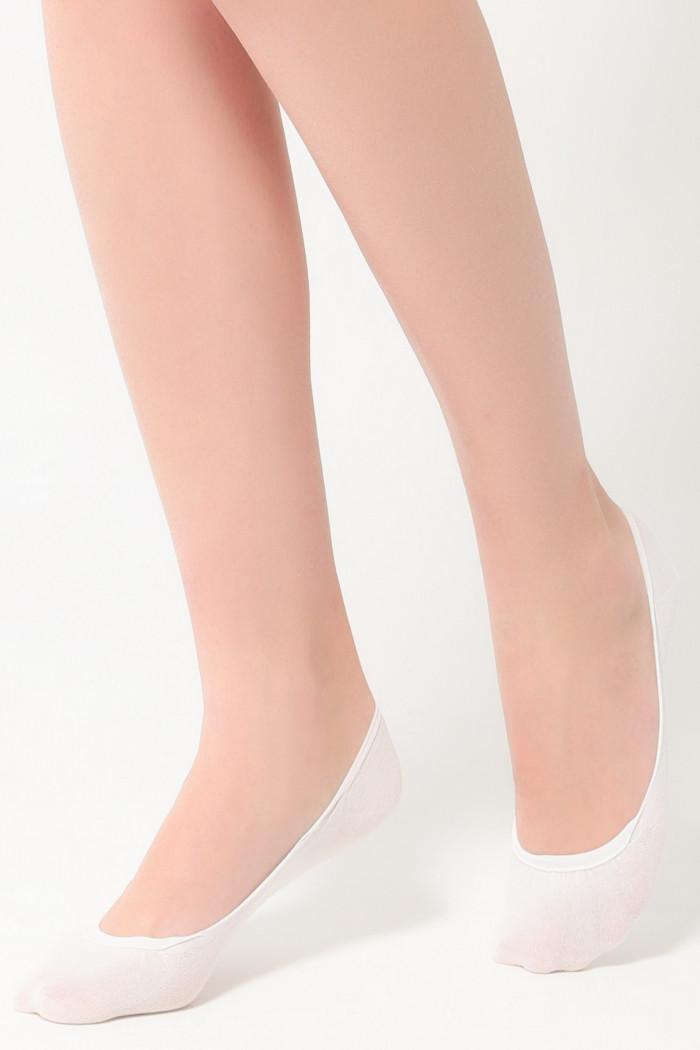 Следы хлопковые бесшовные Legs 742 CLASSIC COTTON (2 пары)