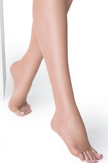 Фото Чулки с открытым носком Marilyn Nudo NF 15 den