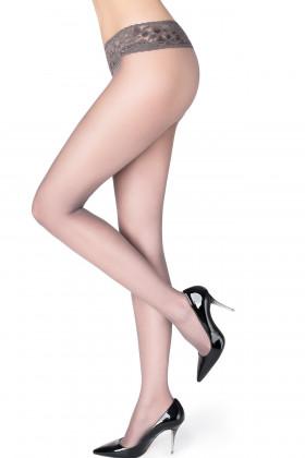 Фото Колготки с кружевным поясом Marilyn Erotic 30 den VB