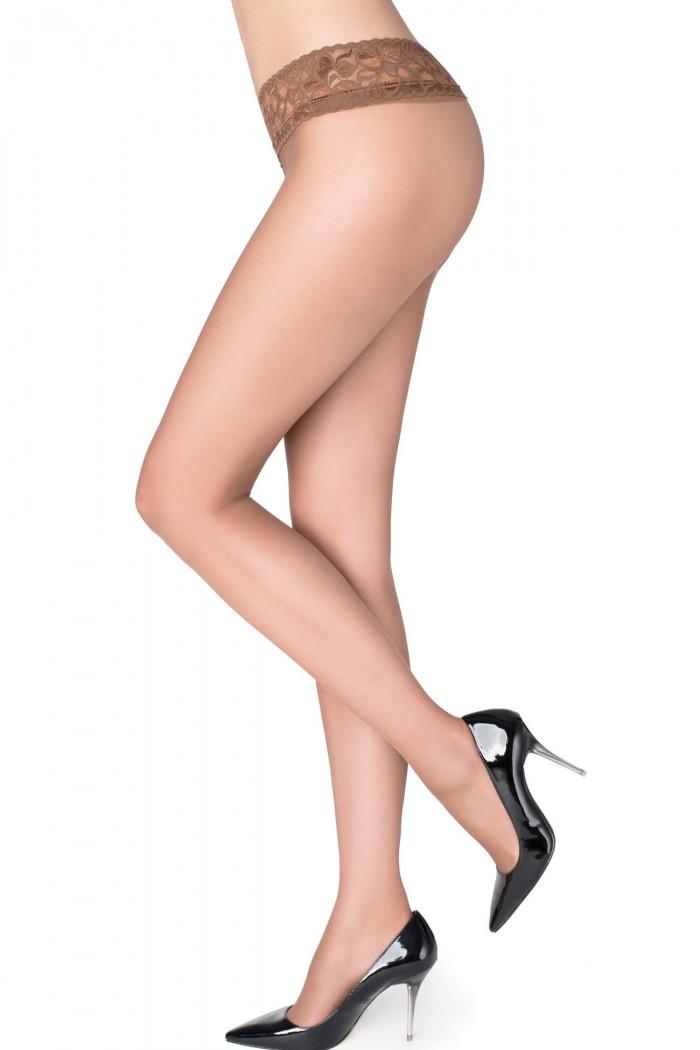 Колготки з мереживним поясом Marilyn Erotic 30 den VB