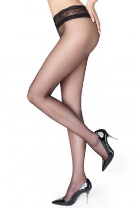 Колготки с кружевным поясом Marilyn Erotic 15 den VB