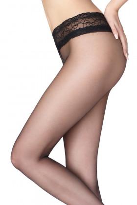 Фото Колготки с кружевным поясом Marilyn Erotic 15 den VB