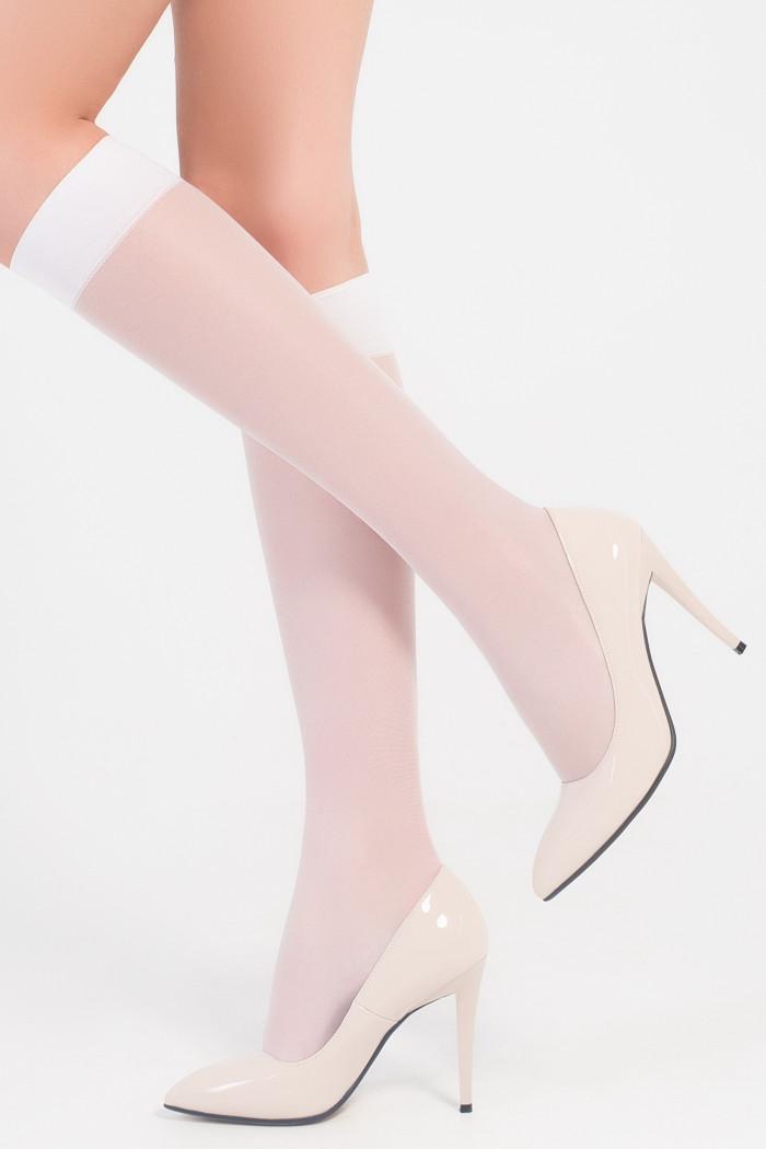 Гольфи з прозорим носком Legs 150 Leto 15d (2 пари)
