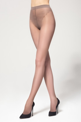 Колготки с ажурными трусиками бикини Legs BIKINI 40