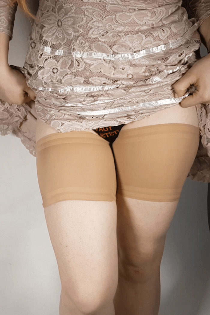 Ленты на бедра против натирания Gabriella Thigh Band Satin