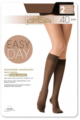 Фото Гольфы Omsa Easy Day 40den (2 пары)