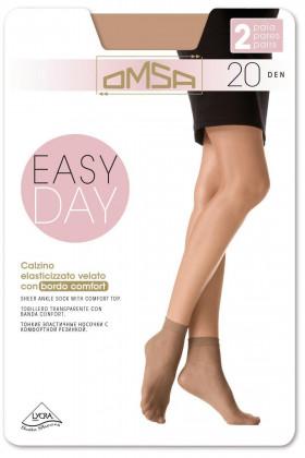 Носочки Omsa Easy Day 20 den (2 пары)