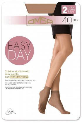 Носочки Omsa Easy Day 40 den (2 пары)