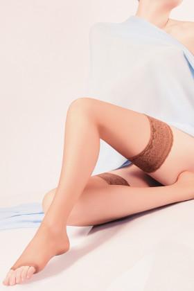 Фото Чулки с открытым носком Giulia Toe 15