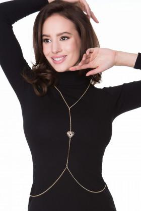 Фото Цепочка декоративная для тела Julimex Bijoux Ivy