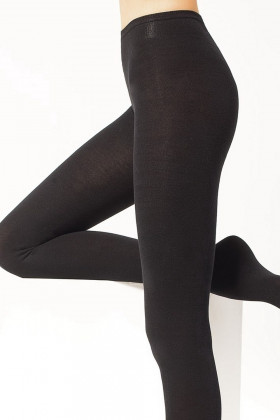 Колготки бавовняні з низькою талією LEGS 630 FREEDOM 110d