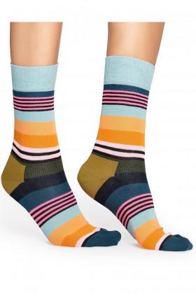 Фото Носки полосатые Happy Socks Multi Stripe Sock MST01-2000