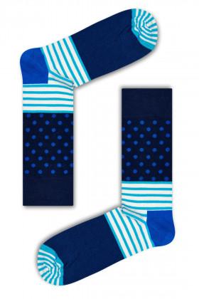 Фото Носки хлопковые Happy Socks Stripes & Dots Sock SD01-066