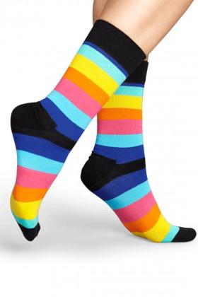 Фото Носки хлопковые в полоску Happy Socks STRIPE SOCK SA01-067