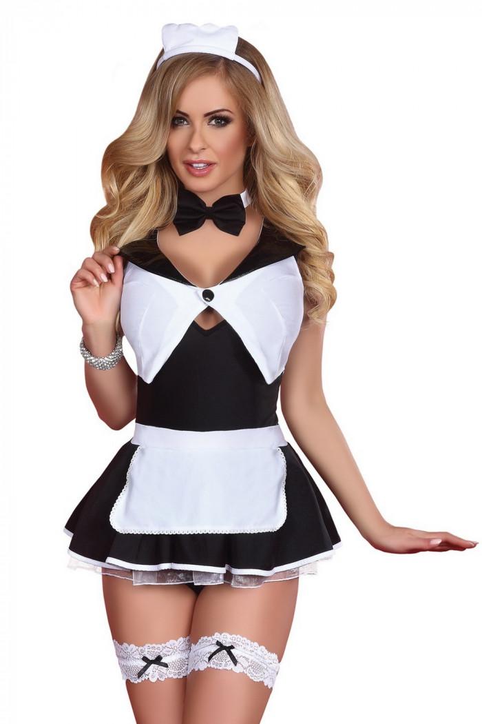 Фото Сексуальный костюм горничной Livia Corsetti Flirty maid