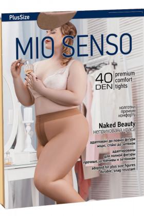 Фото Колготки большого размера Mio Senso Naked Beauty PlusSize 40 Den