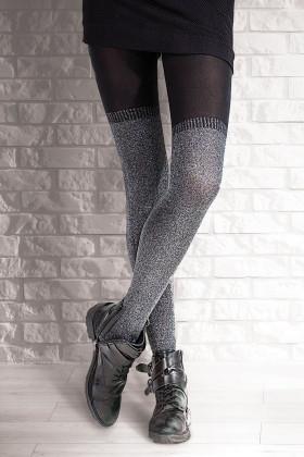 Фото Колготки теплые с имитацией чулок Gatta GO GIRL!