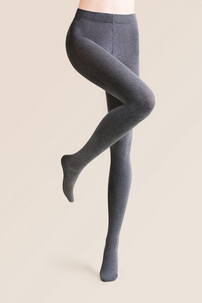 Теплые колготки Gabriella Melange Cotton 250 den