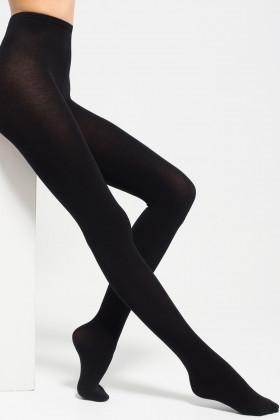 Фото Колготки теплые с шерстью и пухом Mio Senso Mount Delicate Black