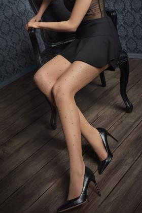 Фото Колготки в сетку с жемчугом Marilyn GUCCI G43