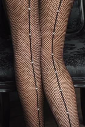 Фото Колготки фантазийные с жемчугом Marilyn GUCCI G40