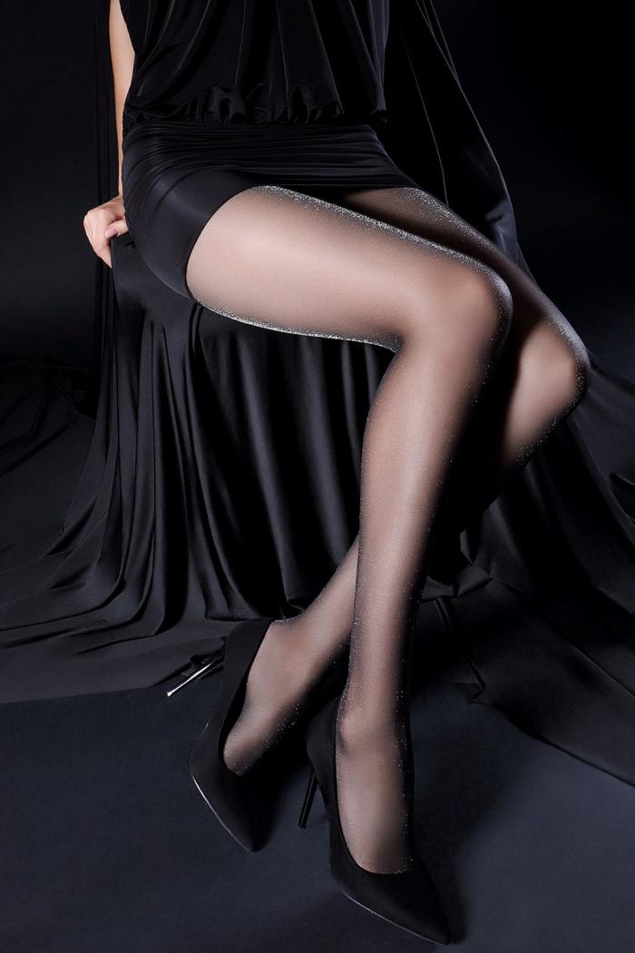 Фото Колготки тонкие с люрексом GIULIA Zlata 20 model 1