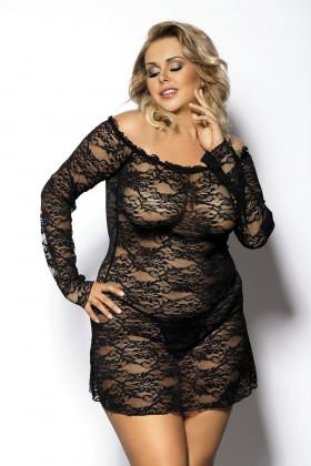 Фото Платье кружевное большого размера Anais Orangina