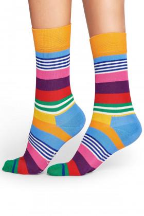 Фото Носки женские полосатые Happy Socks STRIPE SOCK MST01-3000-459