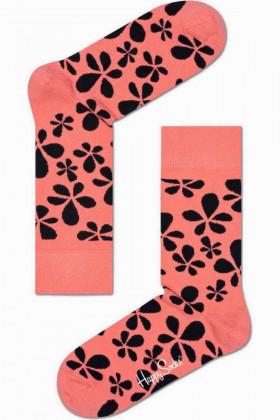 Фото Носки хлопковые с принтом Happy Socks Flower Sock FLO01-3000