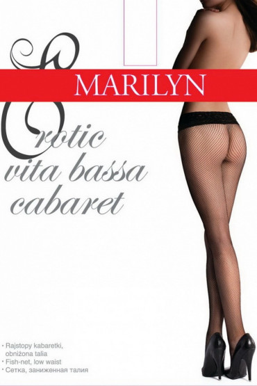 Фото Колготки в сетку на силиконе Marilyn Erotic Cabaret VB