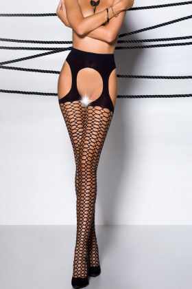 Фото Чулки с поясом Passion Tiopen 004 fishnet 40d