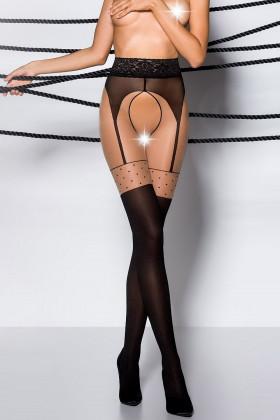 Колготки с интимным вырезом Passion Tiopen 003 40d