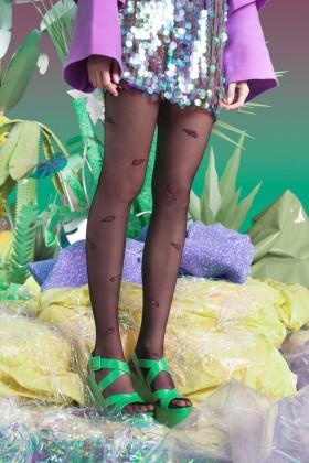 Фото Колготки с цветным принтом Gabriella Ice Creams 20d