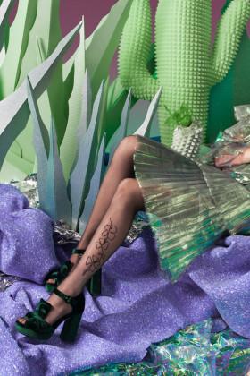 Фото Колготки с цветочным принтом Gabriella Sarah 20d
