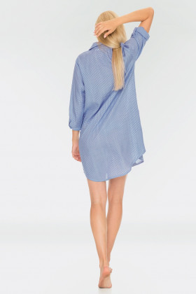 Фото Платье-рубашка для дома Key LHD 465 A19